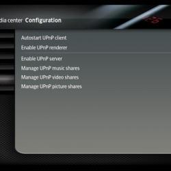 XBMC UPnP settings